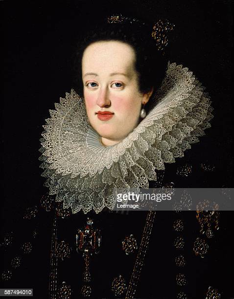 Portrait of Eleonora Gonzaga called Eleonora of Mantua Archduchess consort of Austria Queen of Germany Queen consort of Hungary and Bohemia Painting...