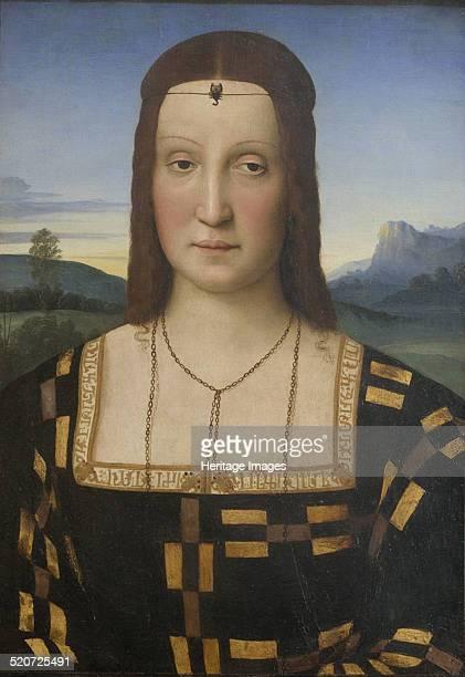 Portrait of Elisabetta Gonzaga Found in the collection of Galleria degli Uffizi Florence