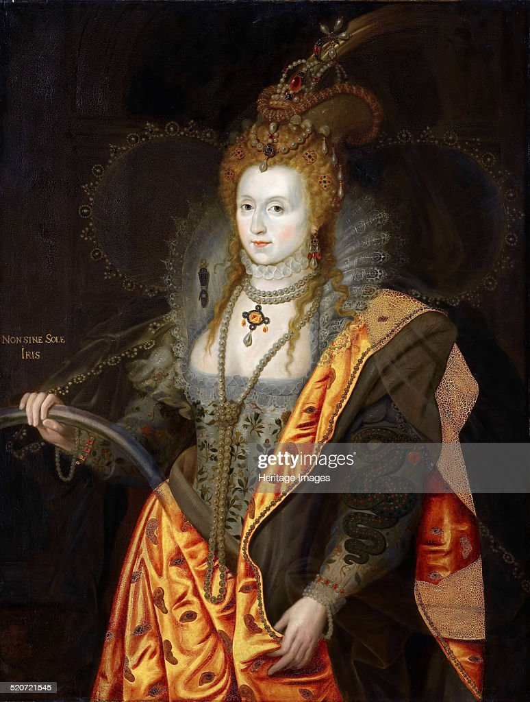 Portrait of Elizabeth I of England in ballet costume as Iris Found in the collection of Musée de l'Histoire de France Château de Versailles