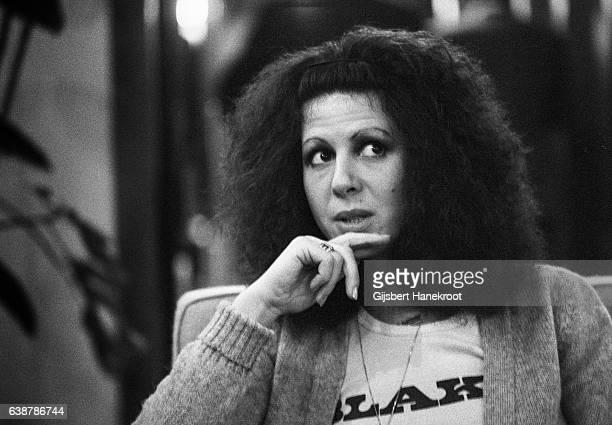 Portrait of Elkie Brooks from Vinegar Joe posed in Amsterdam Netherlands circa 1974