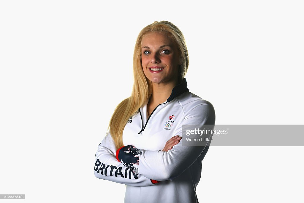 A portrait of Ellie Faulkner a member of the Great Britain Olympic team during the Team GB Kitting Out ahead of Rio 2016 Olympic Games on June 29, 2016 in Birmingham, England.