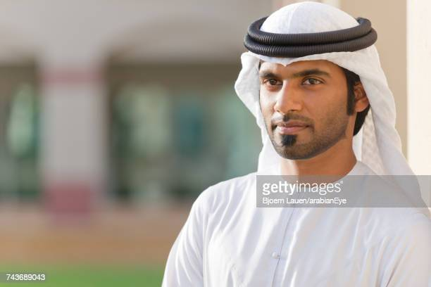 Portrait of Emirati man.