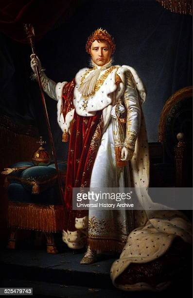 Portrait of Emperor Napoléon Bonaparte I French military and political leader Painted by François Gérard French painter Dated 1815