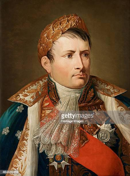 Portrait of Emperor Napoléon I Bonaparte From a private collection