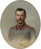Portrait of Emperor Nicholas II 1897 Private Collection Artist Liphart Ernest Karlovich