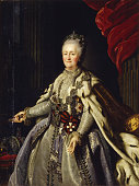 Portrait of Empress Catherine II Found in the collection of Regional Art Gallery Tver