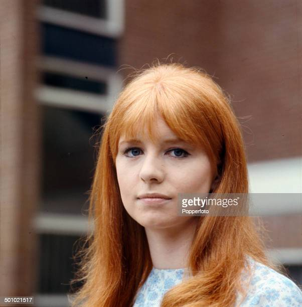 Portrait of English actress Jane Asher on the set of the television drama 'You Will Know Me By The Stars In My Eyes' in 1966
