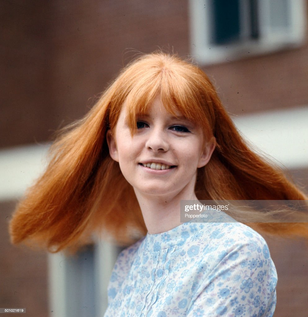 Portrait of English actress Jane Asher on the set of the television drama 'You Will Know Me By The Stars In My Eyes' in 1966.