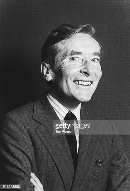 Portrait of English comedian and actor Kenneth Williams London 1982
