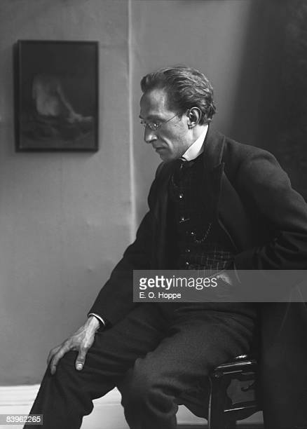 Portrait of English composer conductor and pianist Joseph Holbrooke 1912 Known as the Cockney Wagner he wrote several compositions based on the works...