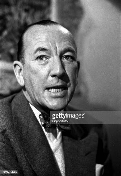 1951 A portrait of English dramatist actor and composer Noel Coward