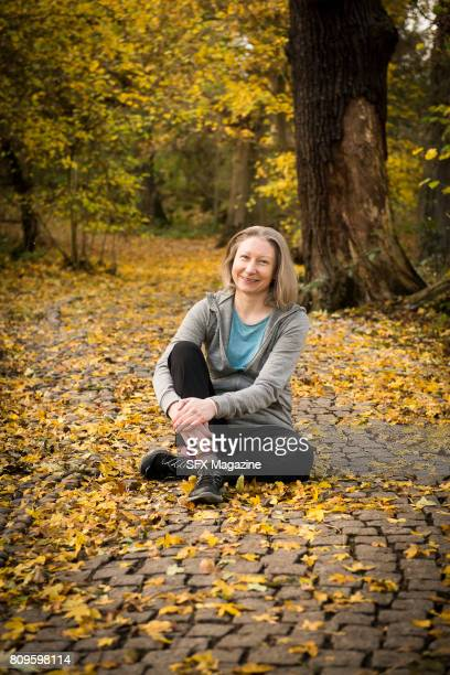 Portrait of English fantasy and science fiction writer Steph Swainston photographed in Egham England on November 17 2016