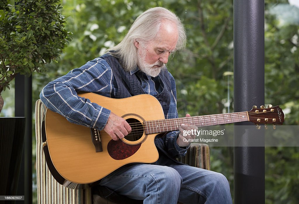 Portrait of English folk rock musician <a gi-track='captionPersonalityLinkClicked' href=/galleries/search?phrase=Roy+Harper&family=editorial&specificpeople=236069 ng-click='$event.stopPropagation()'>Roy Harper</a>, taken on July 17, 2013. Harper is best known as a solo artist, but has also collaborated with artists such as Pink Floyd and Kate Bush.