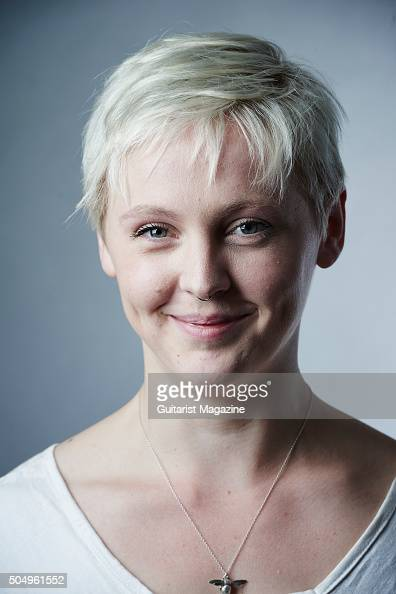 Portrait of English indie rock musician Laura Marling photographed in London on May 25 2015