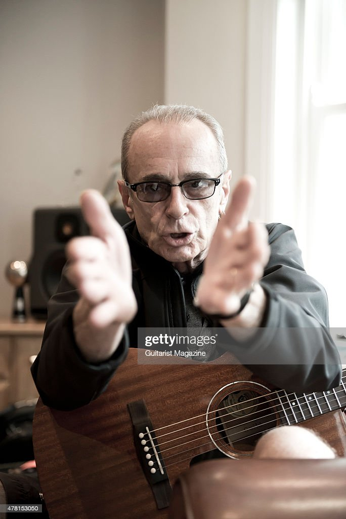Francis Rossi Portrait Shoot