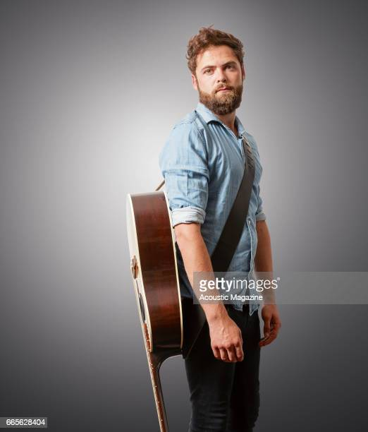 Portrait of English musician Mike Rosenberg better known by his stage name Passenger photographed in London on July 19 2016