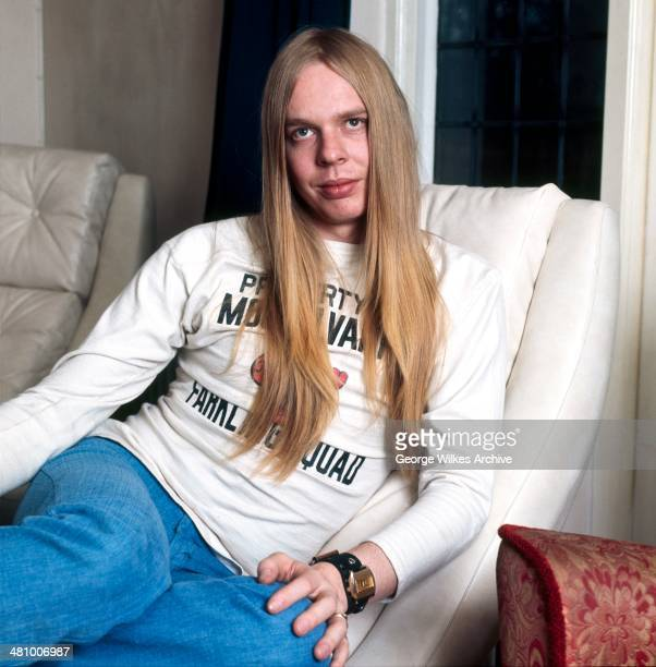 Portrait of English musician Rick Wakeman London England 1973