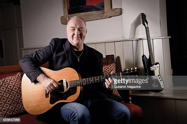 Portrait of English musician Robbie McIntosh photographed at his home in Weymouth England on November 29 2013 McIntosh is best known as a member of...