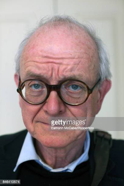 Portrait of English neurosurgeon Henry Marsh during the 16th Aldeburgh Literary Festival Aldeburgh England March 4 2017