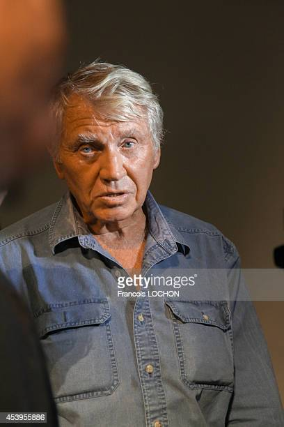 Portrait of English photographer Don McCullin in France on September 5 2013