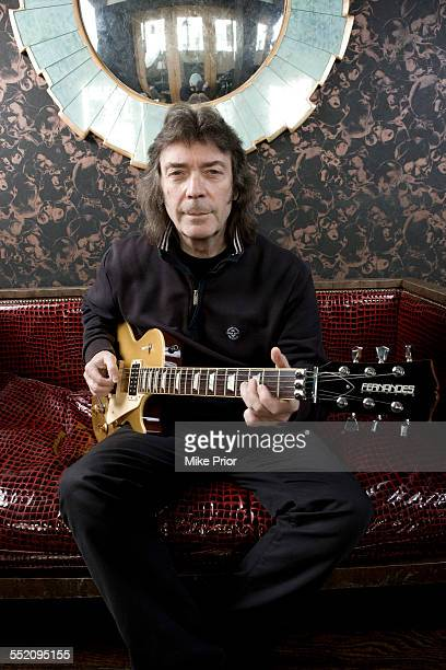 Portrait of English rock guitarist Steve Hackett United Kingdom 4th February 2007