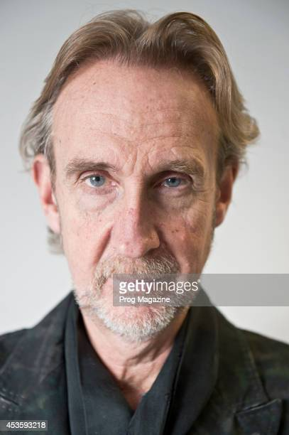 Portrait of English rock musician Mike Rutherford photographed in London on December 16 2013 Rutherford is best known as a founding member of...