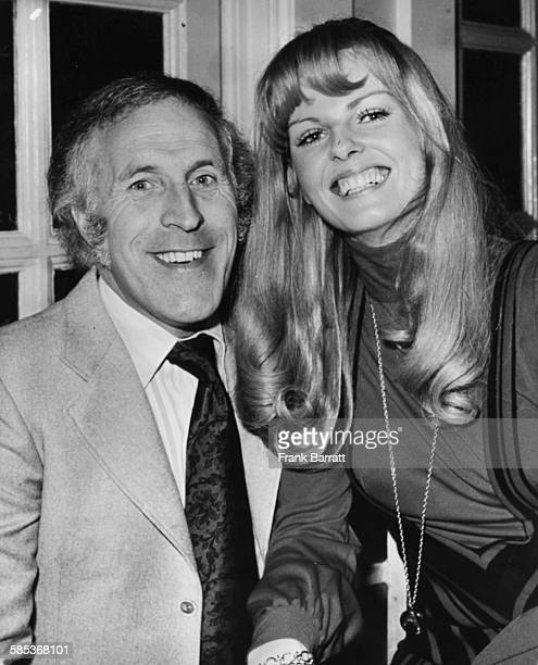 Portrait of entertainer Bruce Forsyth and his girlfriend Anthea Redfern both presenters of the BBC television show 'The Generation Game' March 28th...
