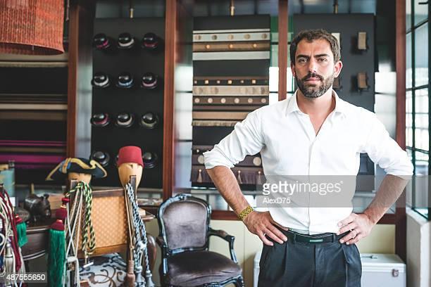 Portrait of Entrepreneur