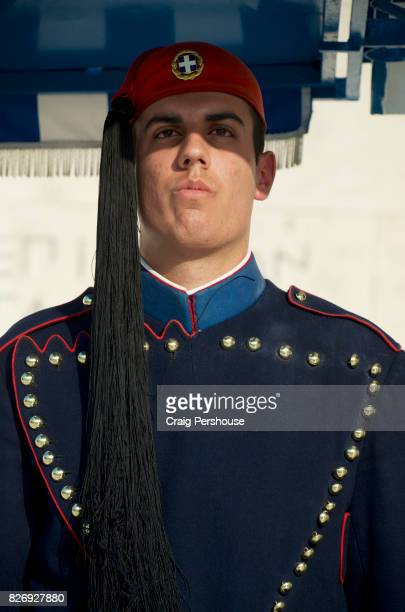 Portrait of Evzone (Parliament House guard).