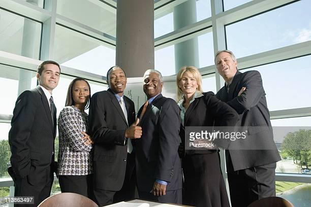Portrait of executive team