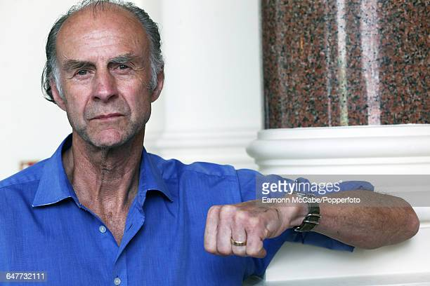 Portrait of explorer and writer Sir Ranulph Fiennes United Kingdom 14th May 2015
