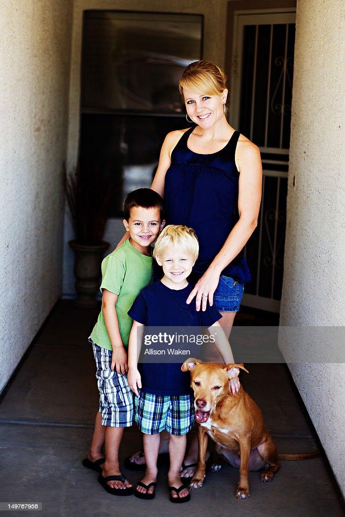 Portrait of family : Stock Photo