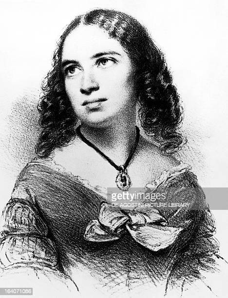Portrait of Fanny Cacilie Mendelssohn Bartholdy after her marriage Fanny Hensel German pianist and composer sister of Felix Mendelssohn Bartholdy