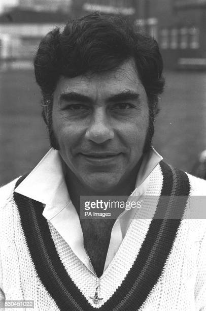 Portrait of Farokh Engineer of Lancashire County Cricket Club Bombay born this Indian Test player made his debut for Lancashire in 1968 winning his...