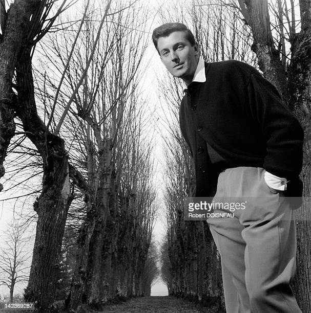 Portrait of fashion designer Hubert de Givenchy 1952 in France