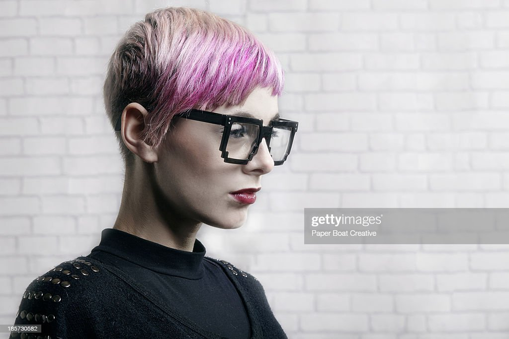 portrait of fashionable young professional : Stock Photo