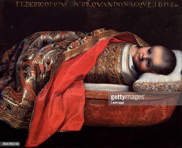 Portrait of Federico Ubaldo della Rovere Duke of Urbino Painting by Federico Barocci called IL Baroccio 1605 Dim 60x73 cm Florence Palazzo Pitti...