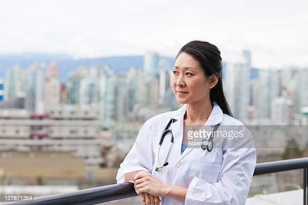 Portrait of female Asian doctor