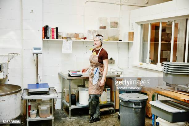 Portrait of female bakery owner