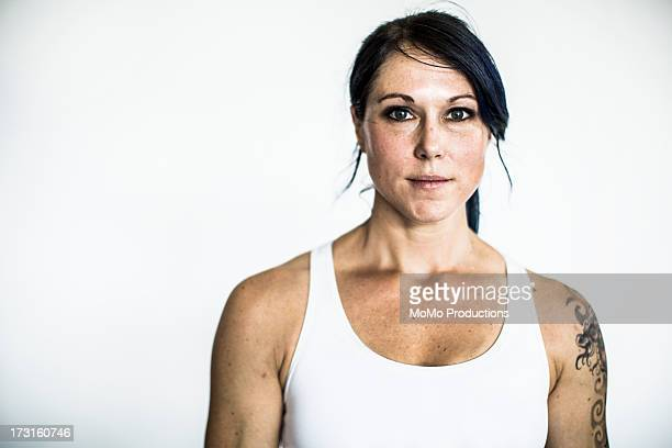 portrait of female gym