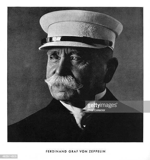 Portrait of Ferdinand Graf von Zeppelin early 20th century Ferdinand Adolf Heinrich August Graf von Zeppelin German general airship manufacturer and...
