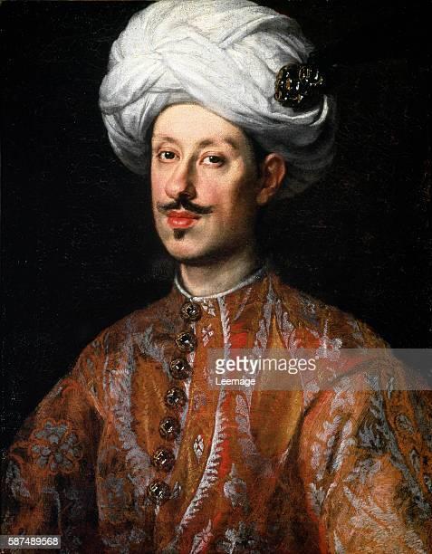Portrait of Ferdinand II de' Medici dressed in Oriental costume Ca 1640 Oil on canvas 64 x 50 cm by Justus Sustermans Galleria Palatina Palazzo Pitti...