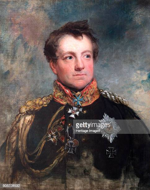 Portrait of Field Marshal August Neidhart Count of Gneisenau Prussian soldier 1818 From the collection of Apsley House London Artist George Dawe