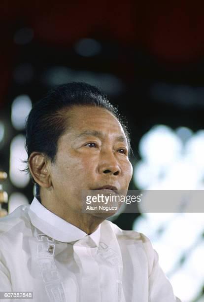 Portrait of Filipino President Ferdinand Marcos