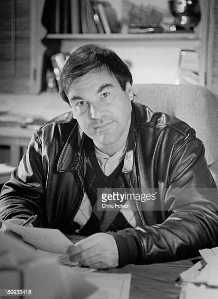 Portrait of film director Oliver Stone Santa Monica California 1986