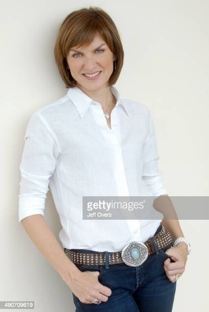 Portrait of Fiona Bruce BBC newsreader and presenter