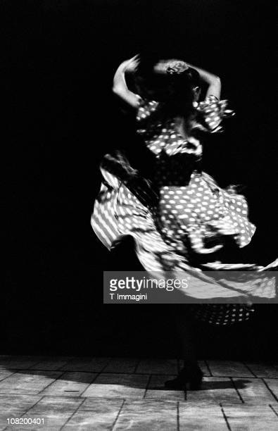 Portrait of Flamenco Dancer, Black and White