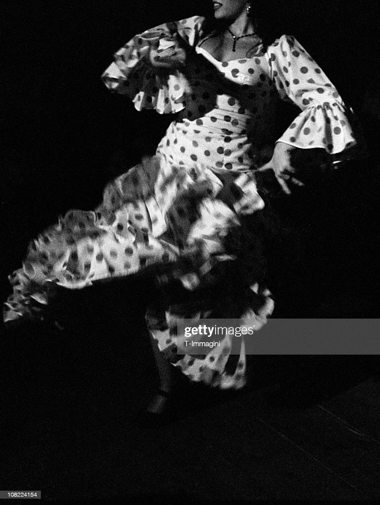 portrait of flamenco dancer black and white stock photo getty images