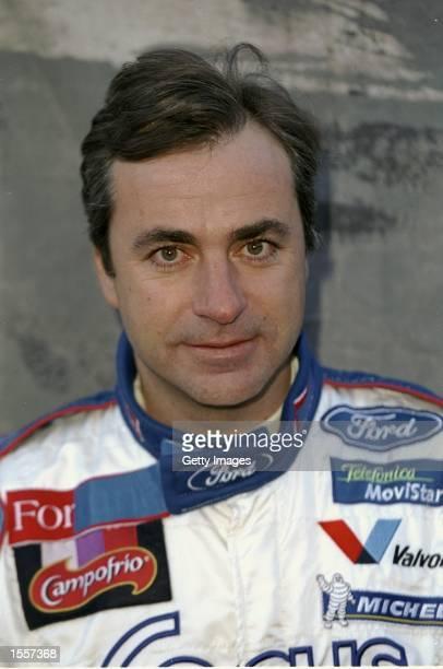 Portrait of Ford team driver Carlos Sainz of Spain Mandatory Credit AllsportUK /Allsport