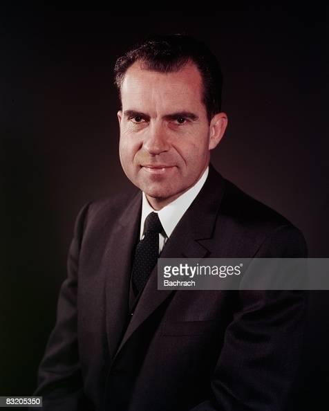 Portrait of former United States President Richard Nixon taken while he was VicePresident in 1960 Washington DC